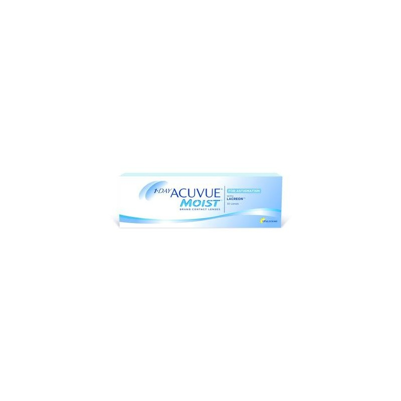 40608bbf35a44 1 Day Acuvue Moist for Astigmatism -30 pack- - Best Lentilles