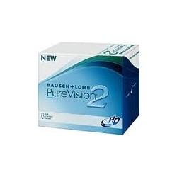 lentilles de contact mensuelle PureVision Sphérique 2HD -6 pack-