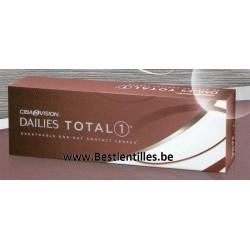 Dailies Total 1 -30 pack- lentille de contact journalière ciba vision