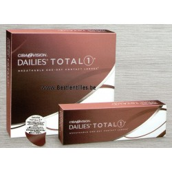 Dailies Total 1 -90 pack- lentille de contact journalière ciba vision