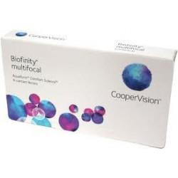 Biofinity multifocale -6pack- lentilles de contact mensuelle progressive coopervision