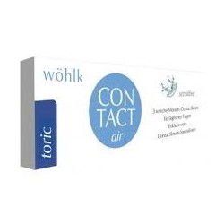 Contact.Air Toric -3 pack- lentille mensuel toric Wohlk
